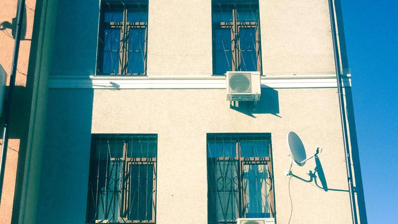 Решётки на окна второго этажа