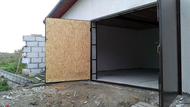 Утеплённые гаражные ворота