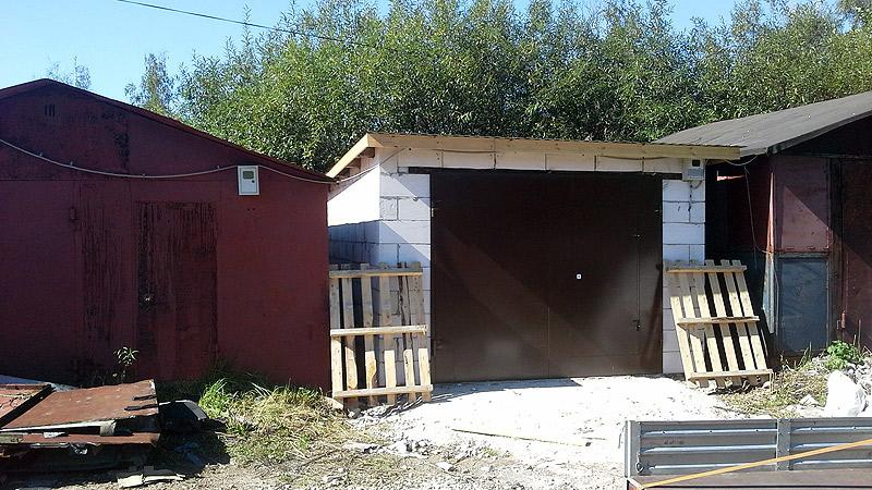 изготовление распашные гаражные ворота